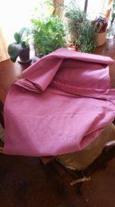 Pink Linen Cloth
